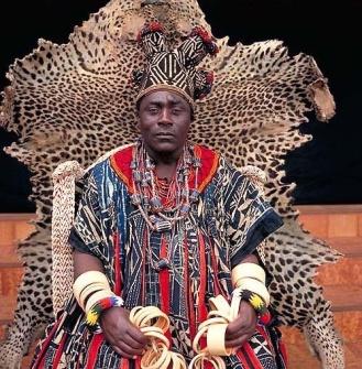 HAPI IRoi de Bana , peuple Bamileke Cameroun]