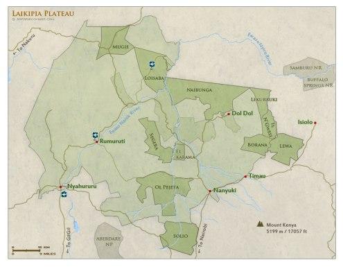 carte-des-reserves-de-laikipia-kenya