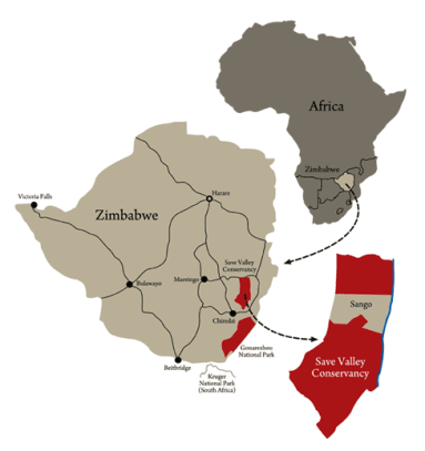 sango savé valley conservancy Zimbabwe