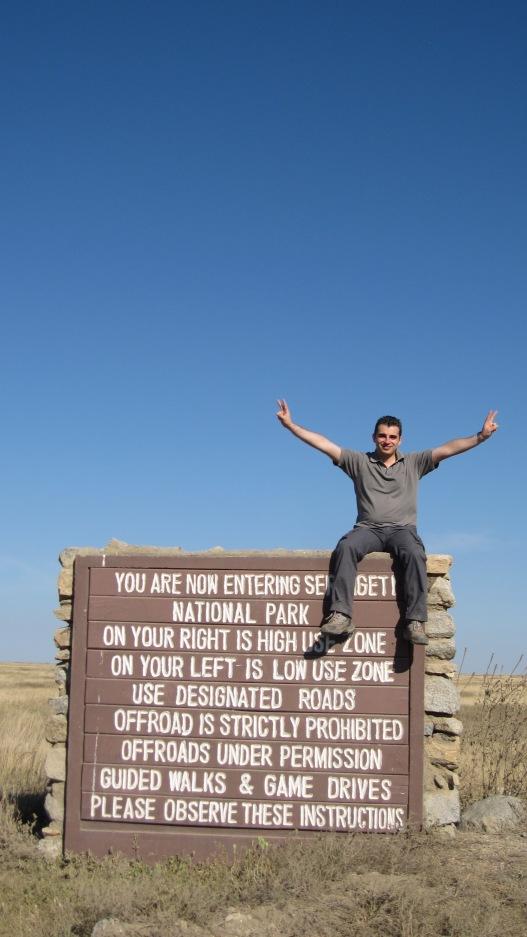 le lendemain arrivée au Serengeti !
